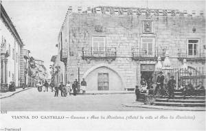 Praça da Raínha (depois de 1910 passou a chamar-se Praça da República)