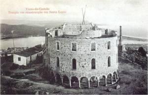 Construção do Templo de Santa Luzia